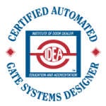 IDEA Certified Automated Gate Systems Designer
