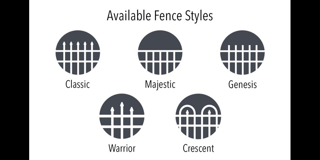 Ameristar Montage Fence Styles