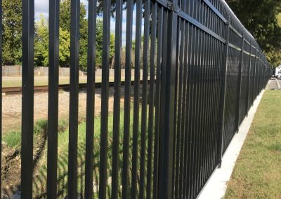 Backyard Metal Gate
