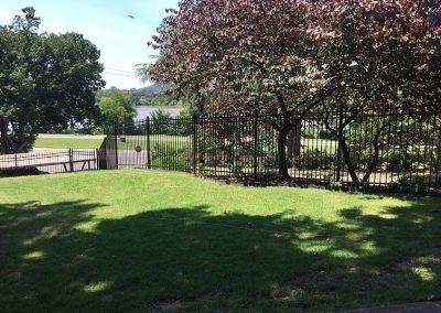 Metal Perimeter Fence