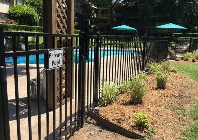 Pool Metal Fencing