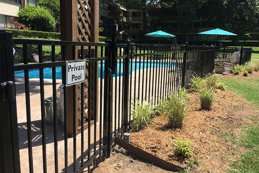 Pool Metal Fencing