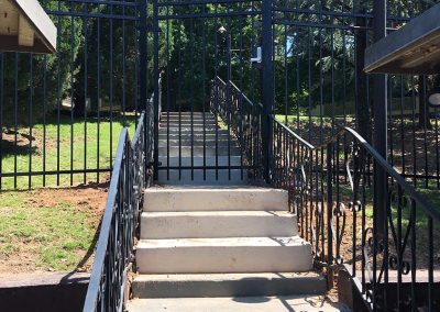 Metal Outdoor Stair Railing