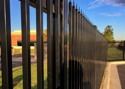 Security Perimeter Metal Fencing