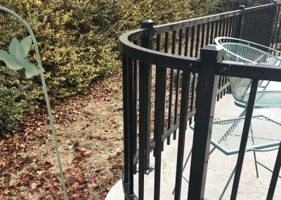 Ameristar Metal Fence Curve