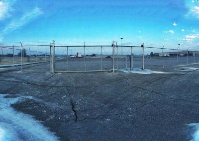Parking Lot Security Chain Link Fence