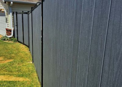Residential Metal Frame Privacy Fence