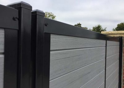Metal Frame Fence Fencetrac