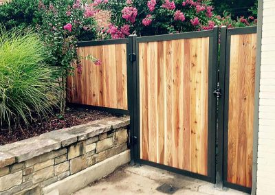 FenceTrac Residential Backyard Gate