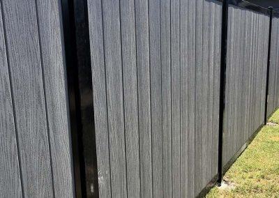 Grey Modern Fence