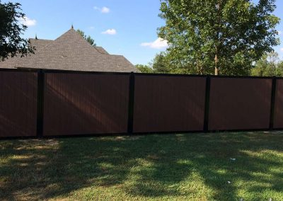 Durable Backyard Fence