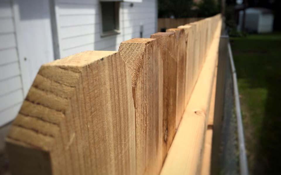 Cedar Wood Fence Pickets