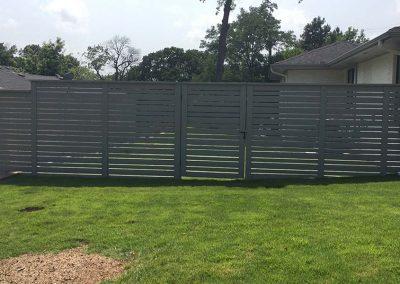 Custom Backyard Fence Design