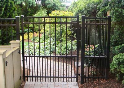 Beautiful Metal Fence Gate