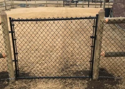 Chain Link Fence Metal Gate