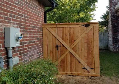 Backyard Wooden Gate - Empire Fence