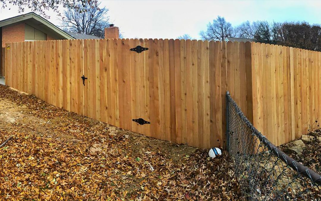 Building a Fence on a Slope