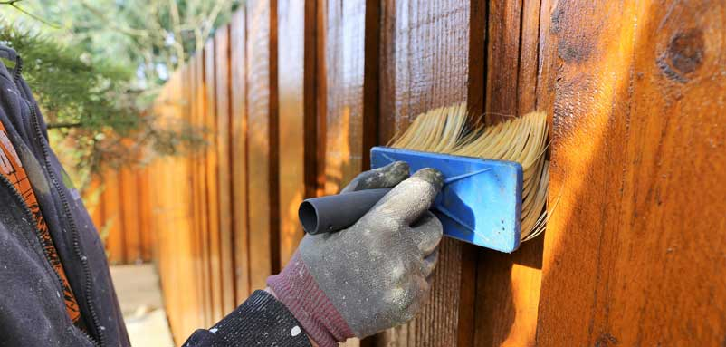 Fence Staining & Sealing