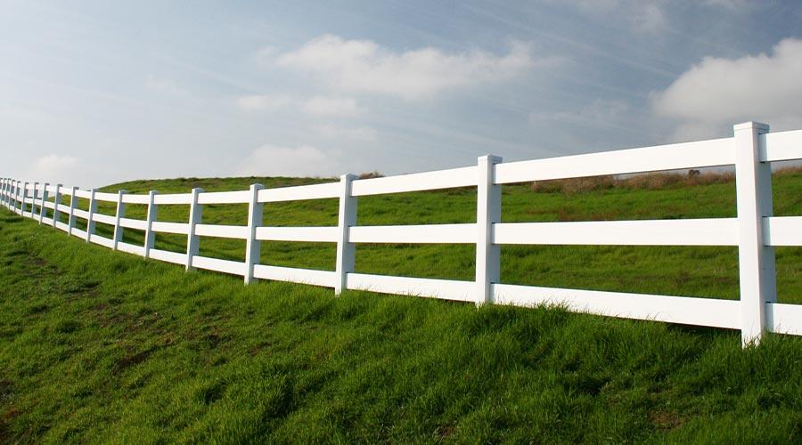 Vinyl Rail Fence