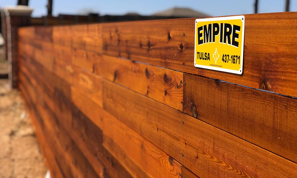 Why Stain & Seal Your Fence