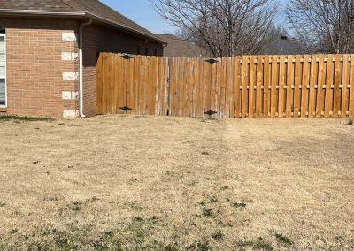 Broken Fence Gate